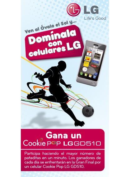Domínala con celulares LG