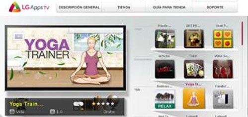 LG APPS TV: Aplicaciones para disfrutar tu TV