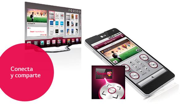 ¿Cómo usar tu smartphone y tu Smart TV LG a la vez?