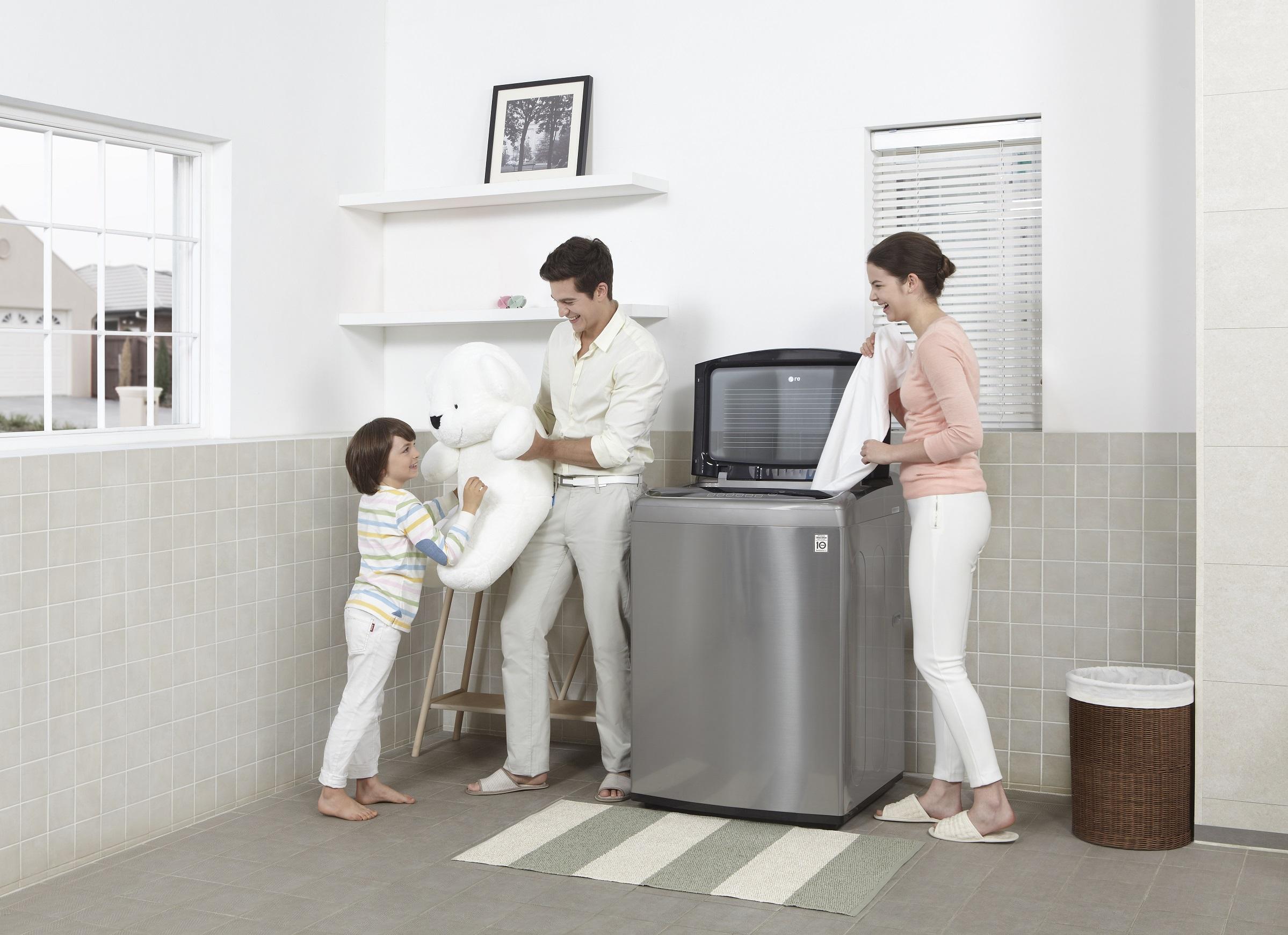 Aprende a lavar tu ropa de lana en tu lavadora lg for Lavar cortinas en lavadora