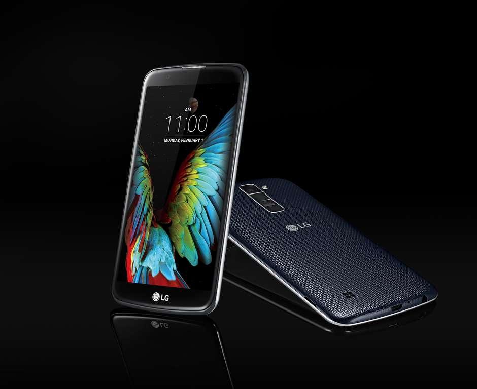 LG comienza comercialización de smartphones Serie K