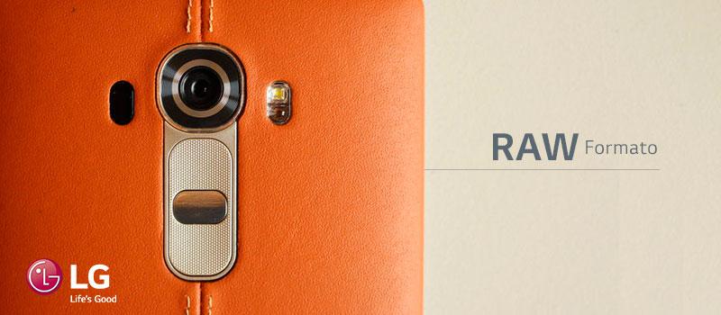¿Qué es el formato RAW de tu LG G4?