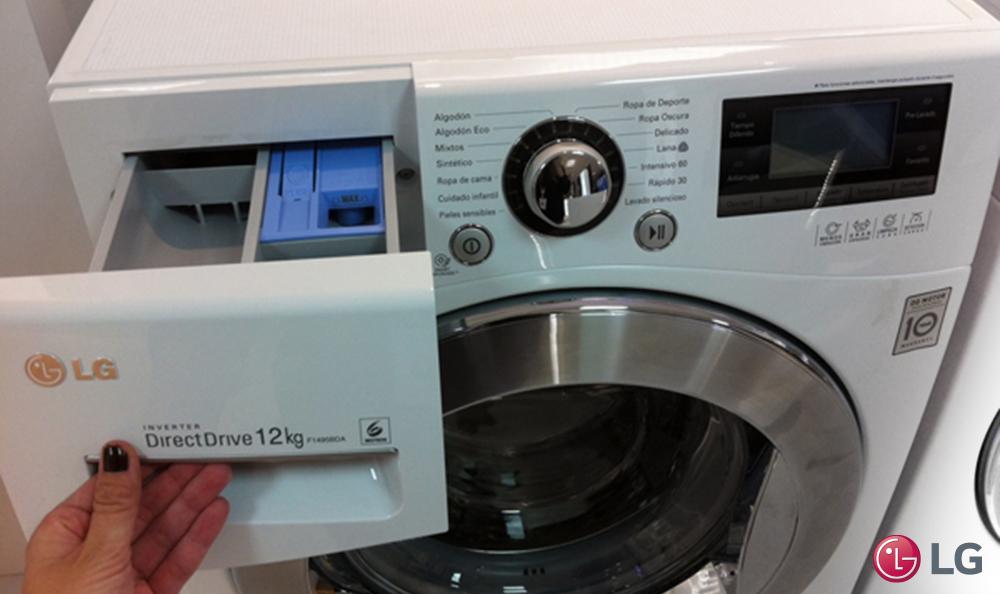 Por qu usar detergente l quido experiencias lg for Cual es el mejor detergente para lavadora