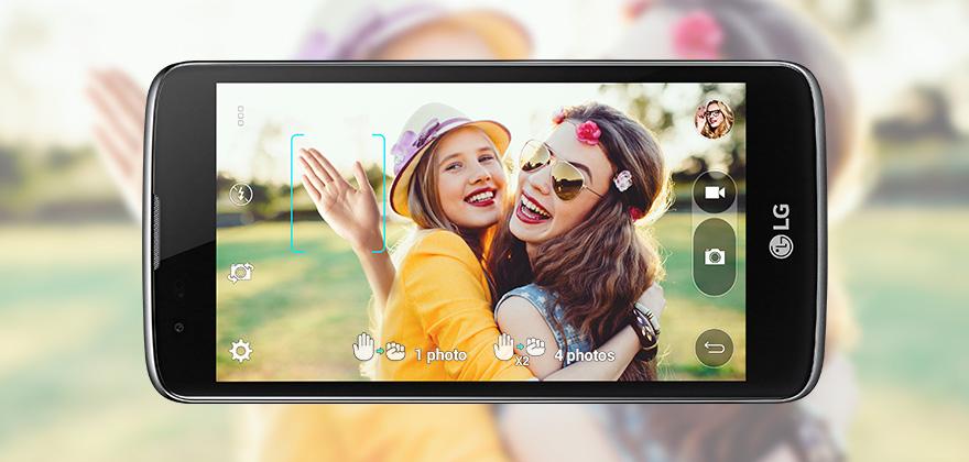 Selfies perfectas con tu LG K 10