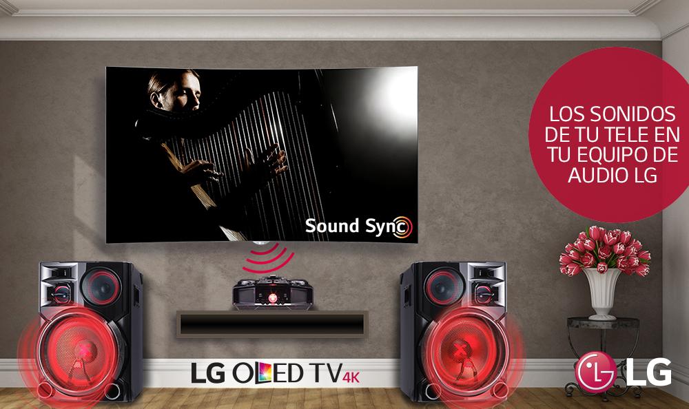 Te enseñamos a usar LG Sound Sync en tu tv