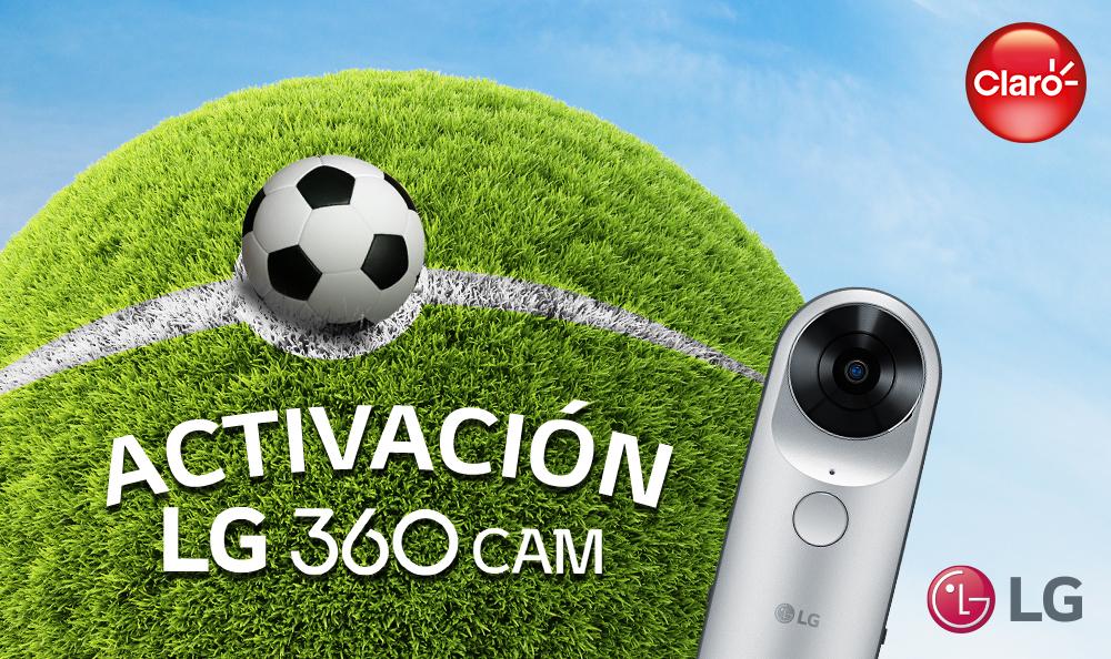 Activación LG 360 CAM