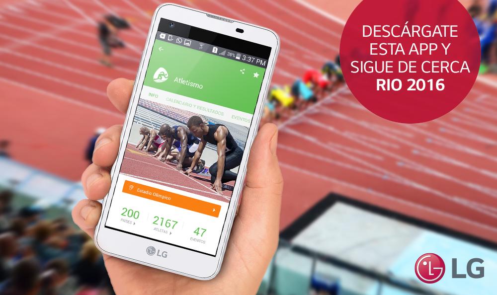 ¿Ya te descargaste la app Río 2016?