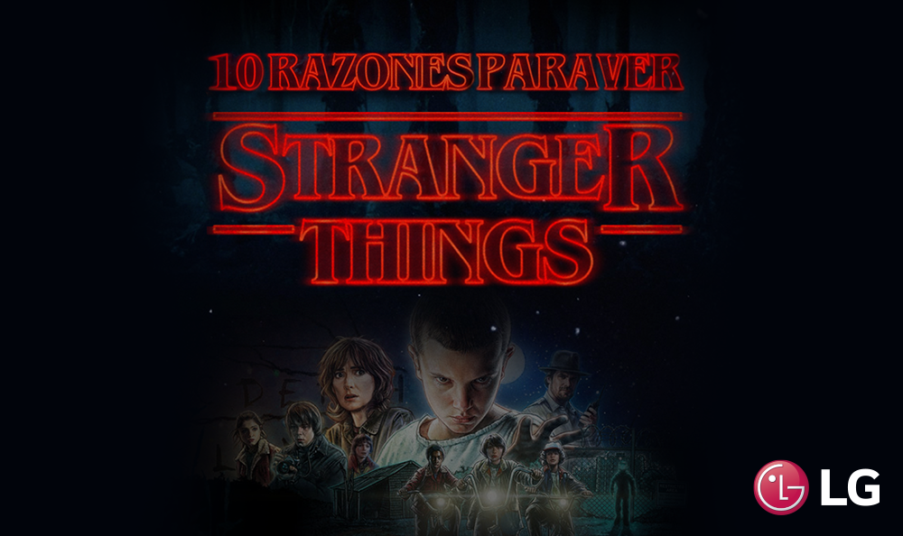 10 Razones para ver Stranger Things