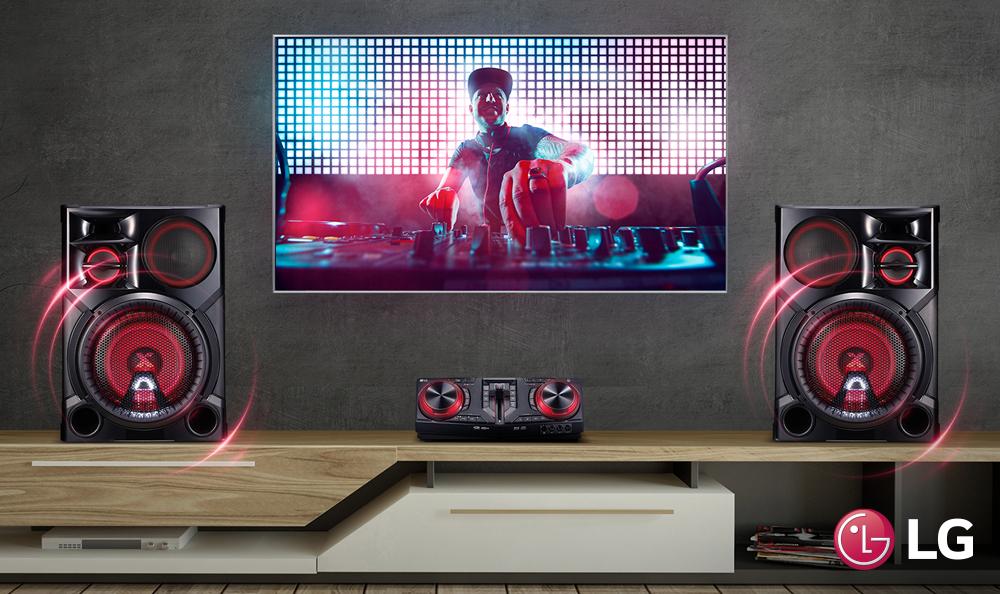 Conecta tu Smart Tv con un equipo de sonido LG