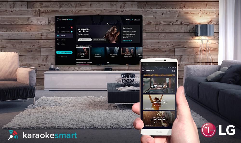 Karaoke en tu Smart TV