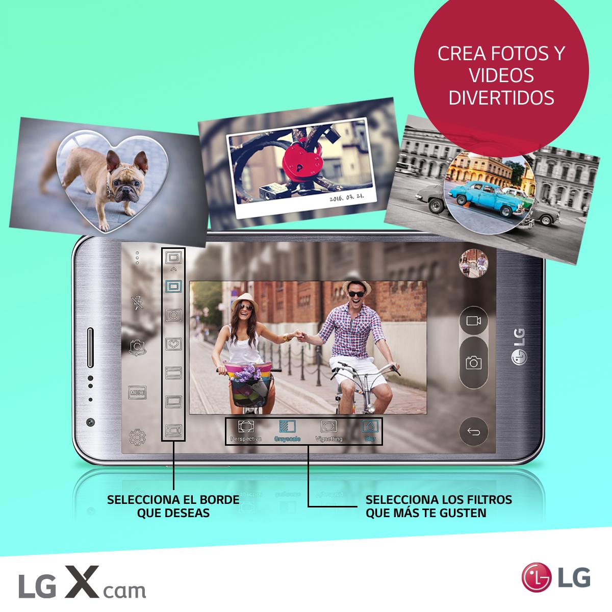 Todo sobre la función Pop – Out Picture de tu LG X CAM