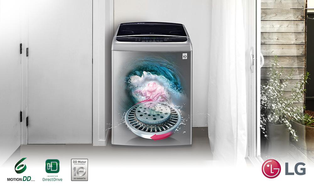Lavadoras LG, reconocidas mundialmente por la tecnología DIRECT DRIVE CERTIFICADO