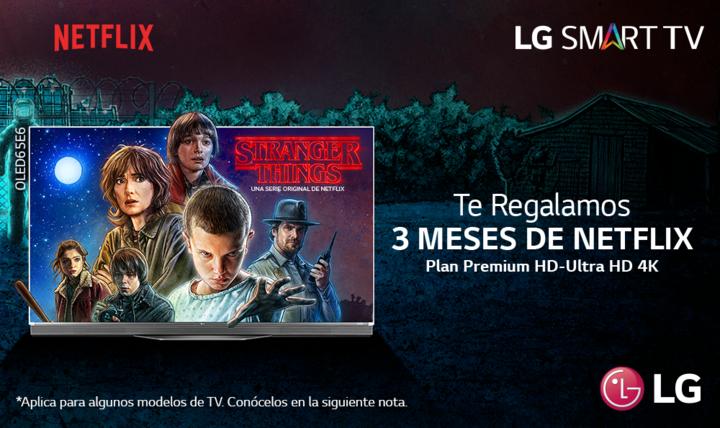 Promoción Netflix