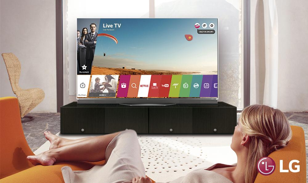 Disfruta de la música con el LG Smart TV