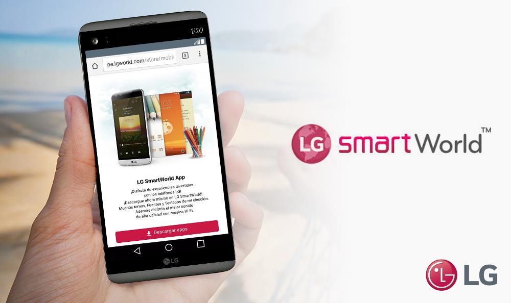LG SMARTWORLD, LA TIENDA ONLINE DE APLICACIONES PARA TU SMARTPHONE LG