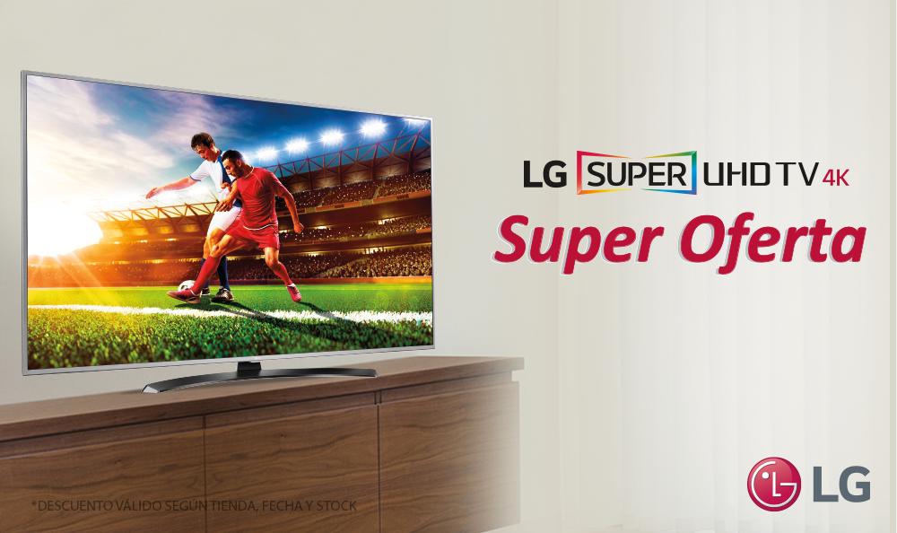 PROMOCIÓN: ¡LLÉVATE TU SUPER UHD TV 4K 55UH7650 a una Súper Oferta!
