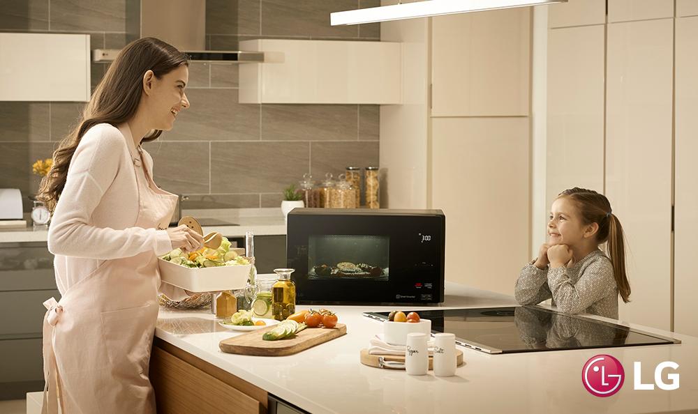 Ventajas para la salud con los nuevos microondas de LG