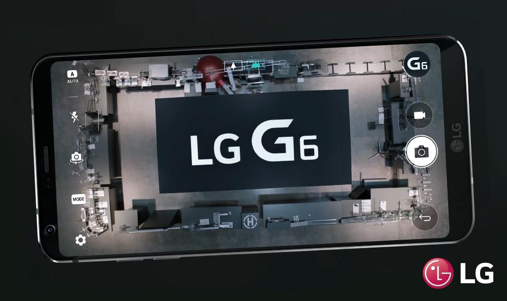 LG G6 se encuentra con la máquina Goldberg