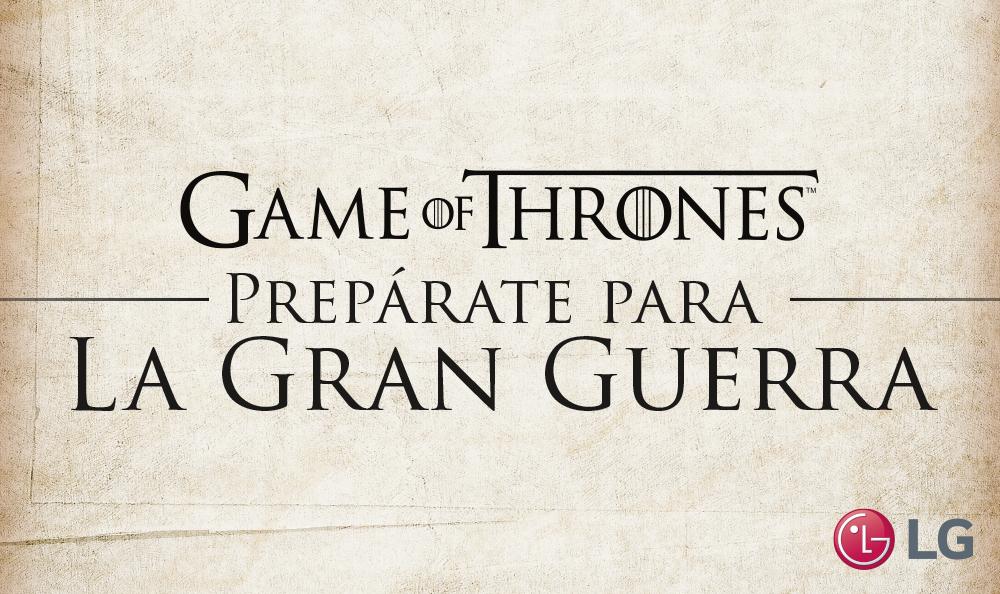 """LG y Claro te traen una súper promoción con """"Game of Thrones"""""""