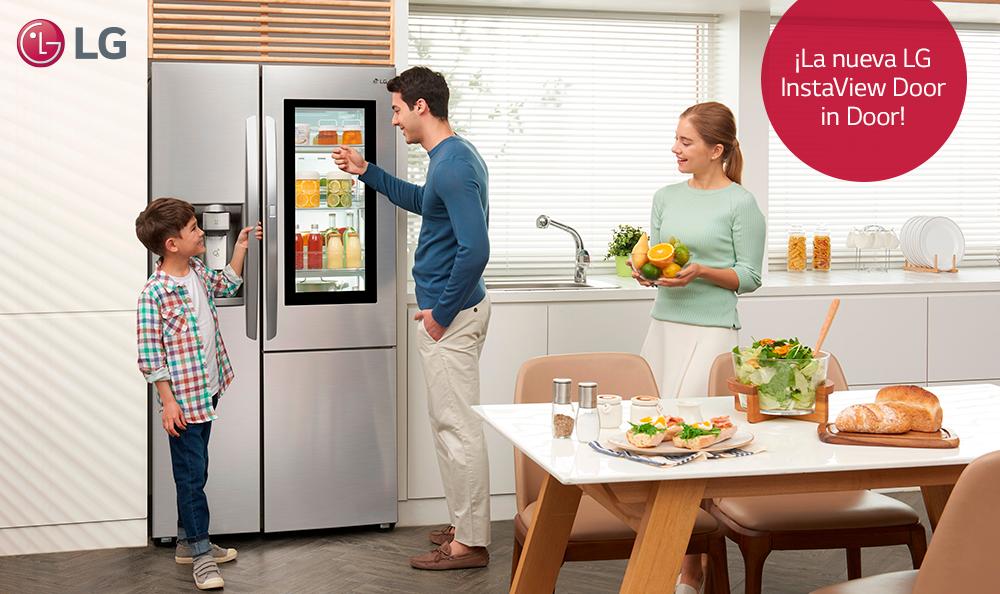 Estudio LG: Consumidores abren 79 veces al día la refrigeradora
