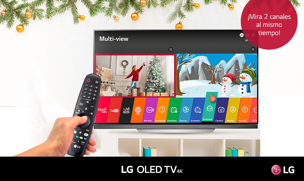 Aprende a activar la función Multiview en tu LG TV