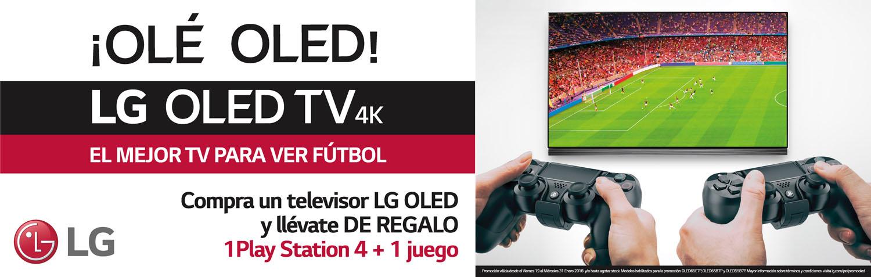 PROMOCIÓN OLED + PS4 + FIFA2018