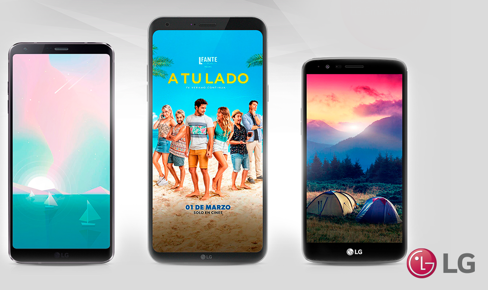 ¡Descarga wallpapers en LG SmartWolrd!