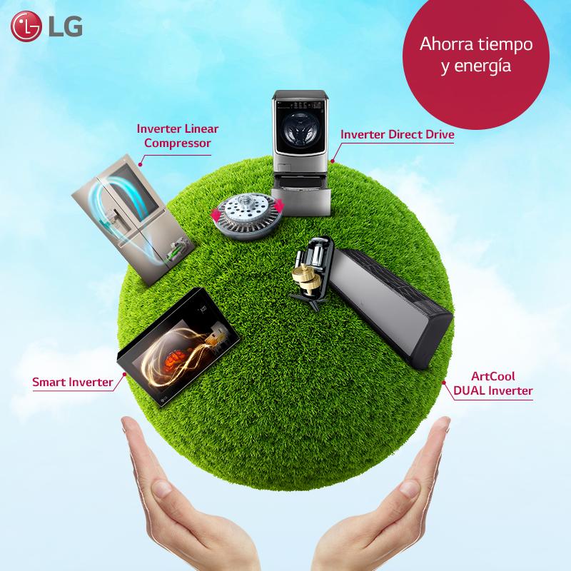 ¿Cómo funciona la tecnología Inverter de LG?