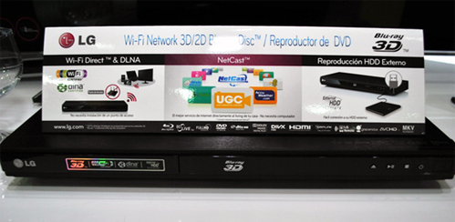BLU-RAY 3D Smart BD670 de LG