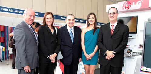 LG Electronics presentó Innovadores productos en la Feria Internacional de Tecnología e Innovación – FITECNO 2011