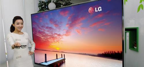 LG presentará el más grande televisor 3D de ultra definición del Mundo