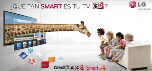 Aplicaciones para LG SmartTV Made in Perú