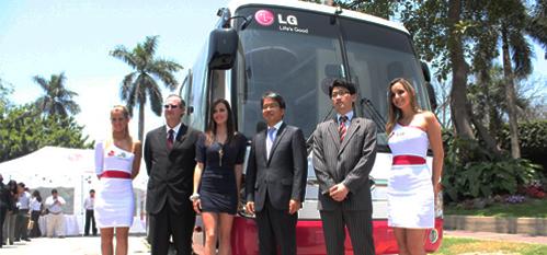 LG Bus recorrerá el Perú con la Experiencia Life's Good