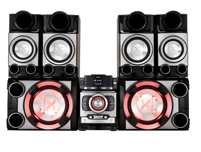 Haz que suene la diversión – Mini Componente LG CM9520