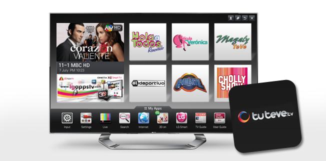 Con LG Smart TV tú tienes el control
