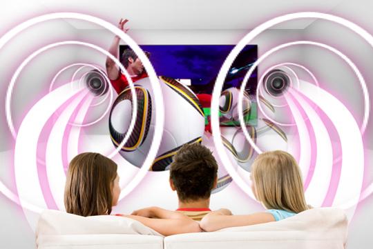 No solo veas en 3D, escucha también con 3D Sound