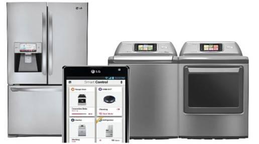 Controlar tus electrodomésticos LG será posible gracias a LG.