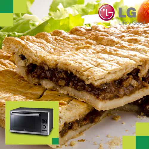 ¡Prepara un delicioso pastel de carne en tu Microondas LG!