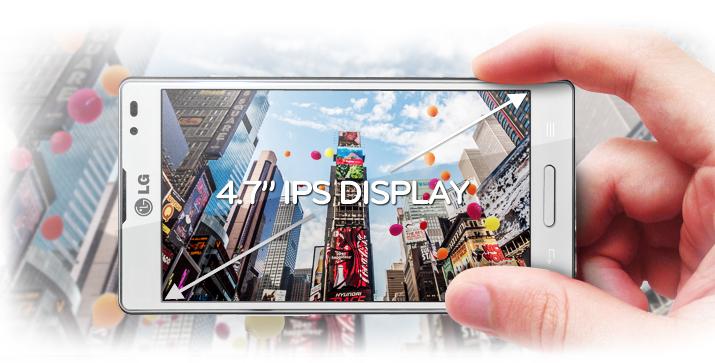 Conoce más acerca de la pantalla del LG Optimus L9