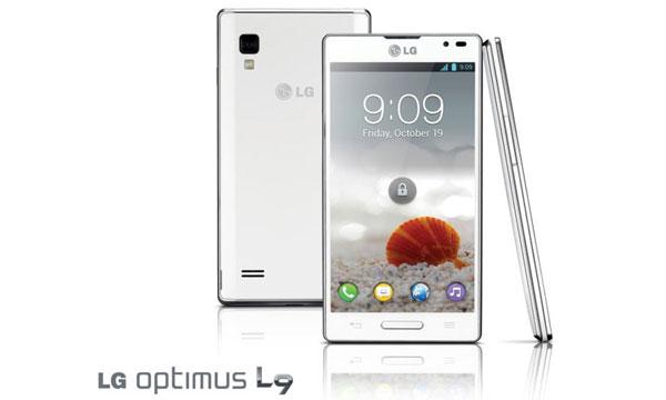 Diseño Premium en el LG Optimus L9