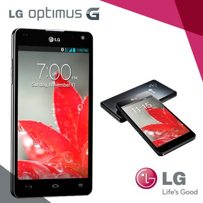 LG Optimus G, ¡Vive sin límites!