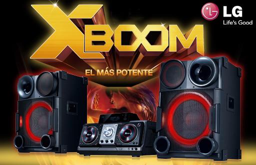 LG X-BOOM CM9730, el minicomponente más potente