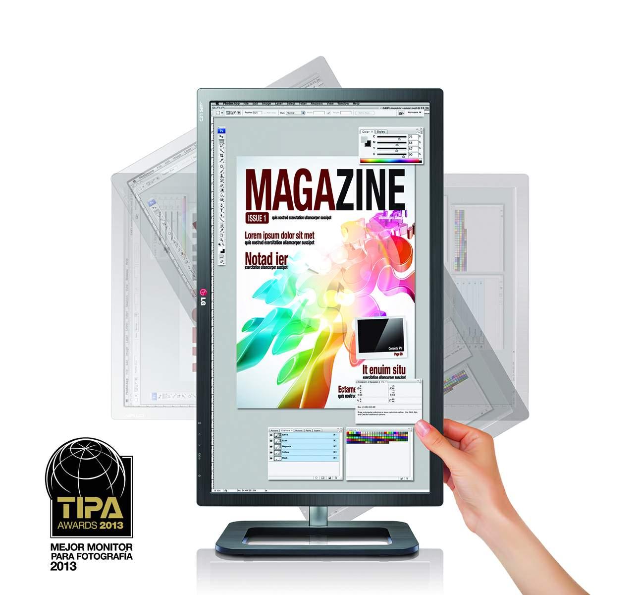 Monitor 27EA83 ColorPrime, ideal para profesionales del diseño