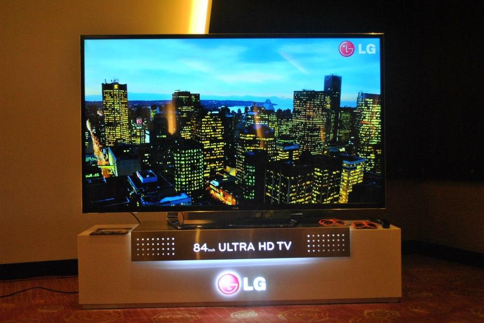 La evolución del entretenimiento llega con el televisor Ultra HD 3D de 84′ de LG