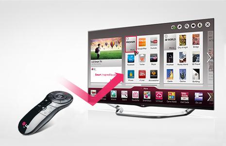 ¿Por qué elegir un Smart TV de LG? Tercera razón: Magic Remote