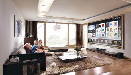 "LG TV Laser, 100"" de total innovación"