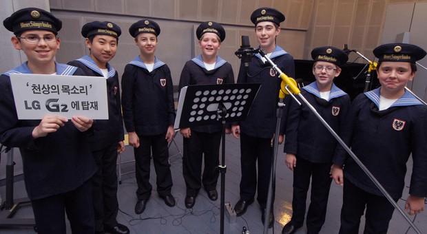Nuestro LG G2 contará con tonos de llamada de los Niños Cantores de Viena