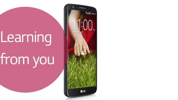 LG G2 Learning from you: Te explicamos el por qué