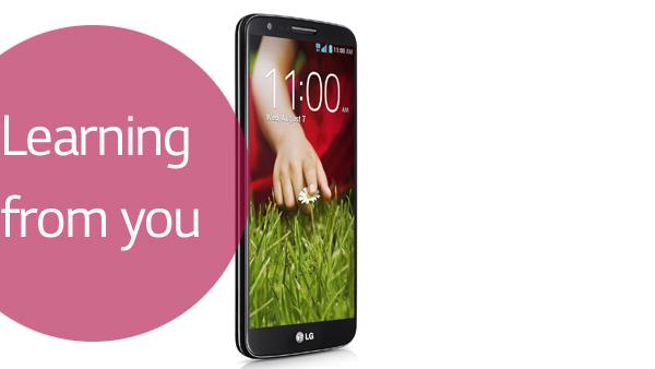 LG G2 Learning from you: Te explicamos el por qué
