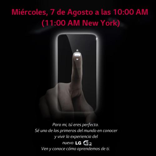 Sigue en directo la presentación mundial del LG G2